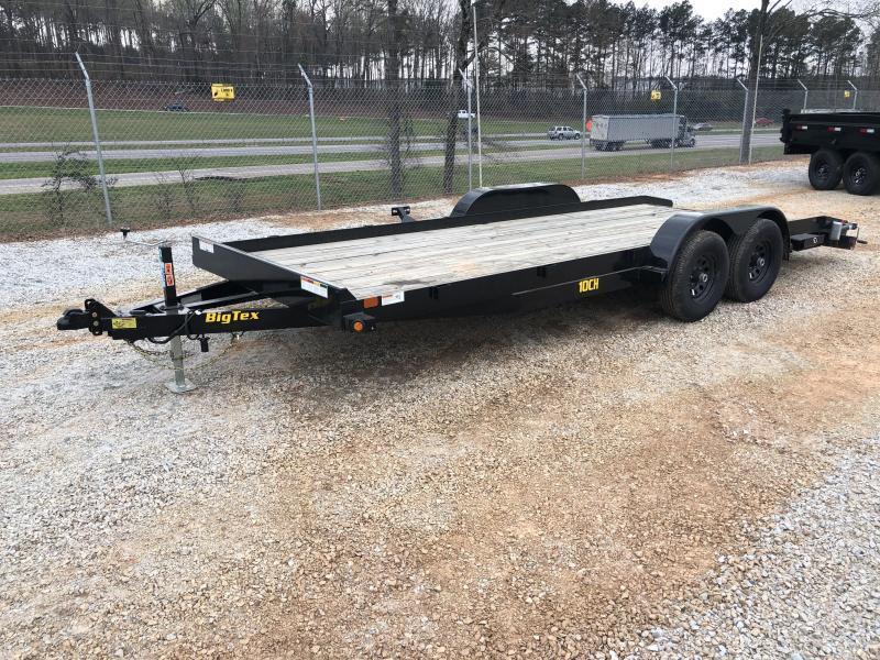 2021 Big Tex 83 X 20 Car Hauler 10k Wood Deck