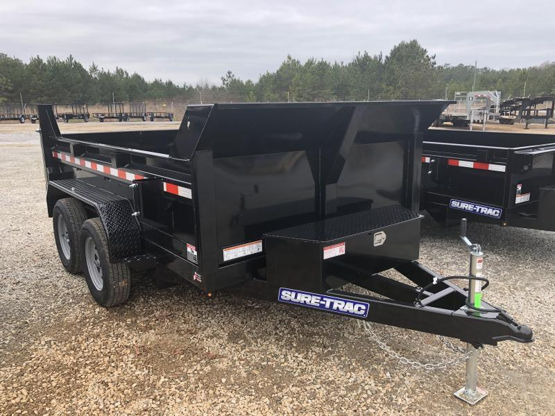 2021 Sure-Trac 72 IN x 10 Low Profile 7K Single Ram Dump