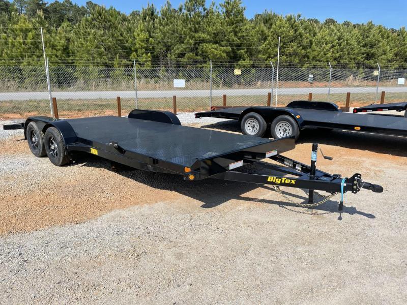 2021 Big Tex 83 x 20 Steel Deck Car Trailer