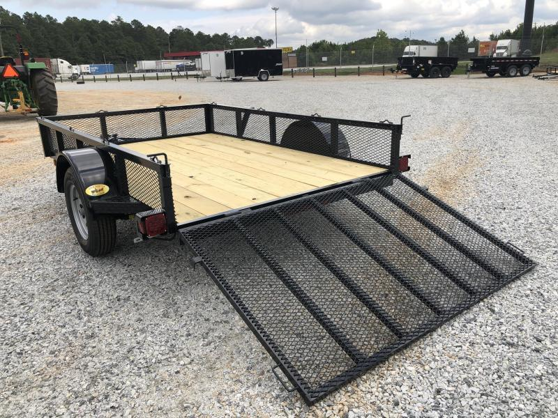 "2021 Superior 6 x 10 Elite Utility Trailer with 14"" Mesh Sides"