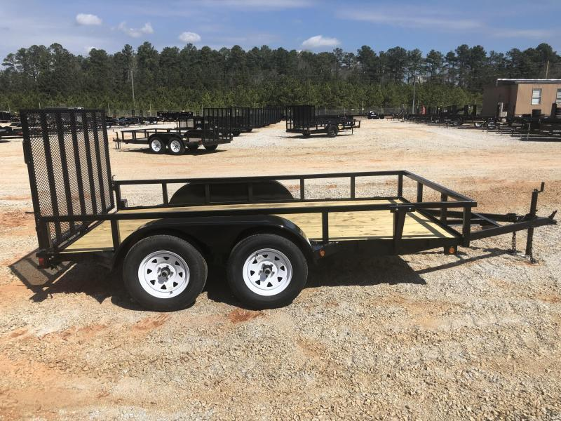 2021 Superior 6 x 12 Elite Tandem Axle Utility Trailer with Spring Assisted Gate