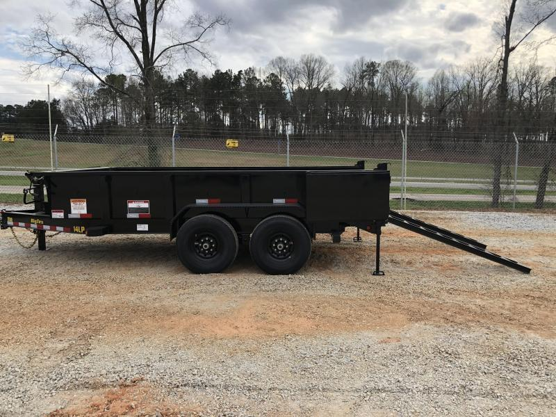 "2021 Big Tex 14LP-14 HD Super Low Profile Dump Trailer (83"" x 14') with HD Tires"