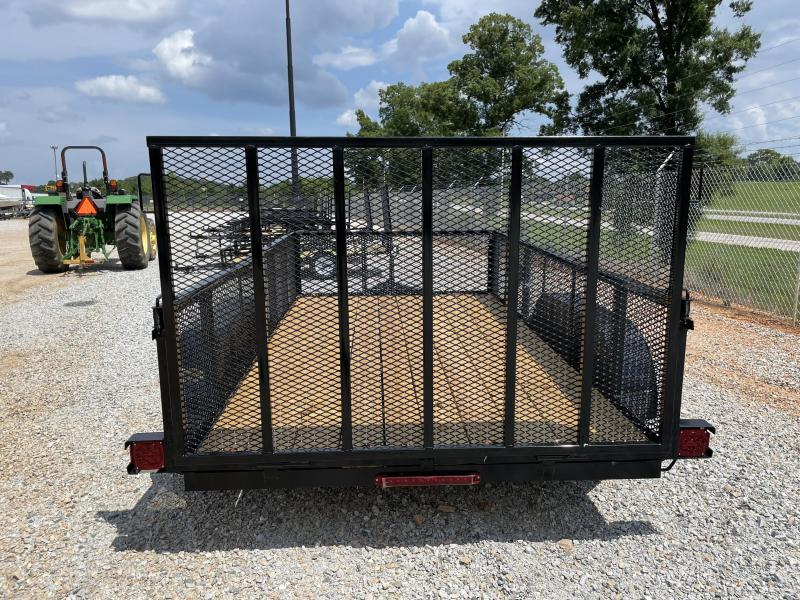 """2021 Superior 6 x 12 Elite Tandem Axle Utility Trailer with 24"""" Mesh Sides"""