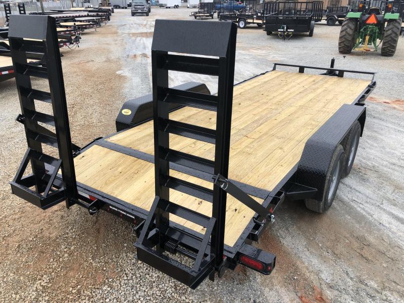 2021 Sure-Trac 7 x 20 (18+2) Equipment Trailer  10K