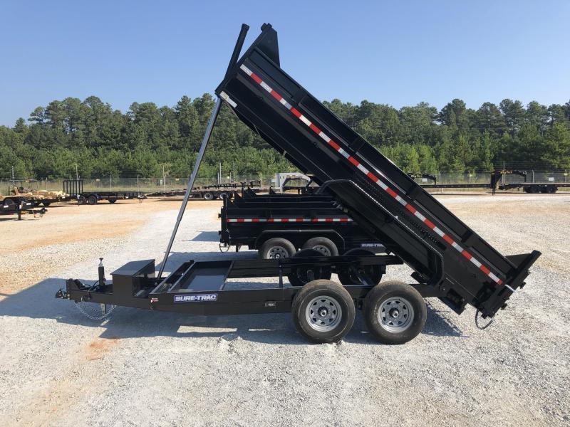 2022 Sure-Trac 82 IN X 14 LP 14K Telescopic Dump