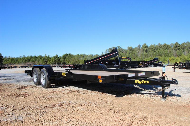 2021 Big Tex 60EC-18 Economy Tandem Axle Car Hauler