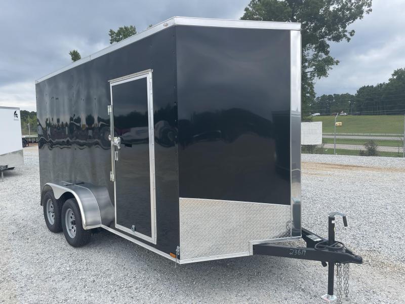 2022 Spartan 7x14 Black 7' int. ht. Enclosed Cargo Trailer