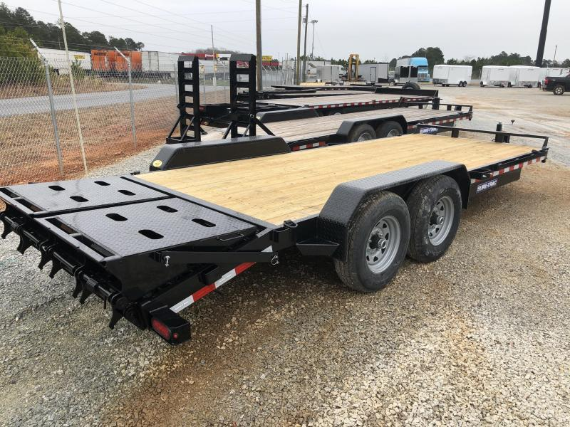 2021 Sure-Trac 7 x 17+3 Implement HD Universal Ramp  14K