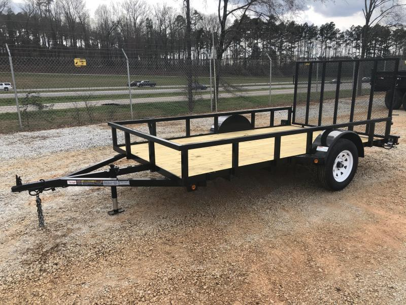 2021 Superior 6 x 12 Elite Utility Trailer with Spring Assisted Gate
