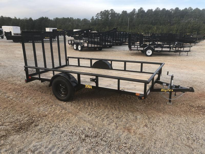 "2022 Big Tex 35SA-12 Single Axle Utility Trailer w/ 4' Ramp - 77"" X 12'"