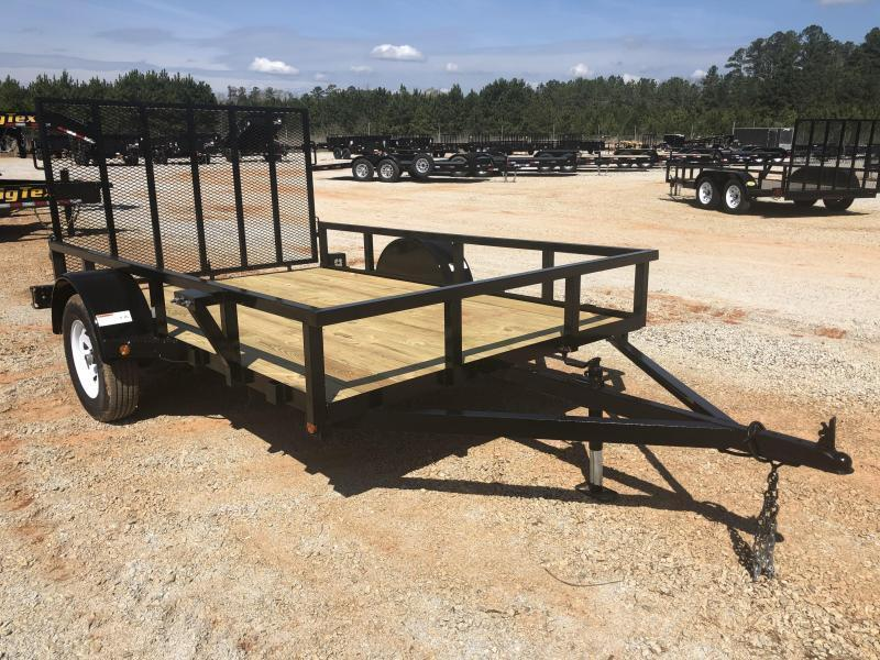 2021 Superior 6x10 Elite Utility Trailer With Spring Assist Gate