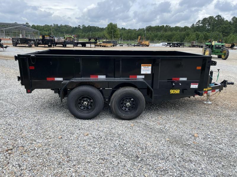 2022 Big Tex 90SR-12 Tandem Axle Single Ram 6x12 Dump Trailer