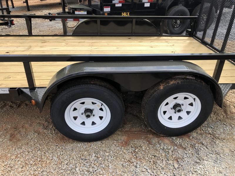 2020 Superior 6 x 12 Elite Tandem Axle Utility Trailer
