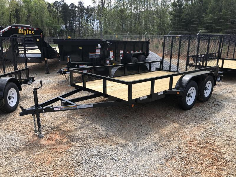 2020 Superior 6 x 12 Elite Tandem Axle Utility Trailer