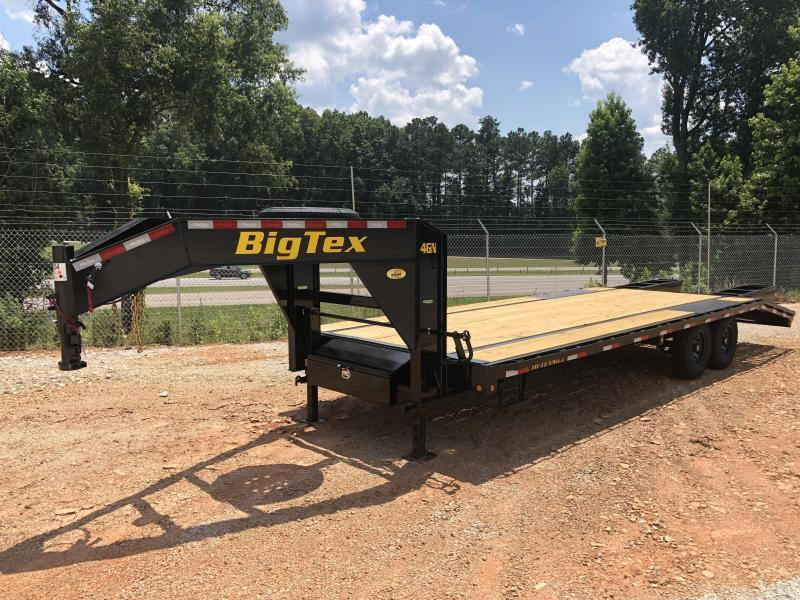 2021 Big Tex 14GN-20 + 5 Gooseneck Equipment Trailer