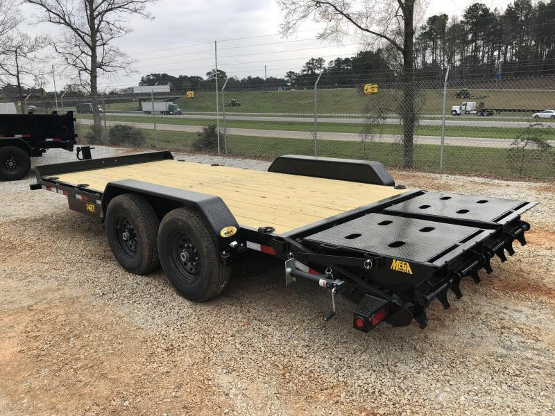 2021 Big Tex 14ET-18MR Super Duty Equipment Trailer w/ Mega Ramps