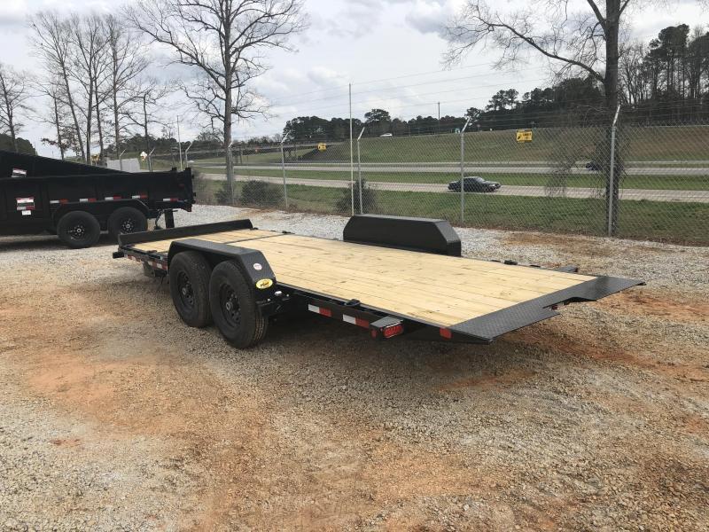 2022 Big Tex 14TL-20 14k Heavy Duty Tilt Deck Trailer (16' tilt +4' fixed)