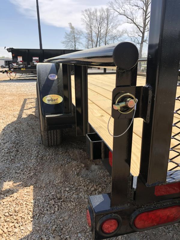 "2022 Big Tex 70PI-16 - 7K Tandem Axle Pipe Top Utility Trailer 83"" X 16'"