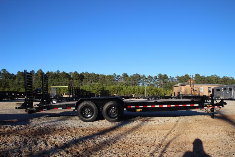 2021 Big Tex 83 X 19 + 3 Super Duty Tandem Axle Equipment Trailer w/ Cleated Dovetail
