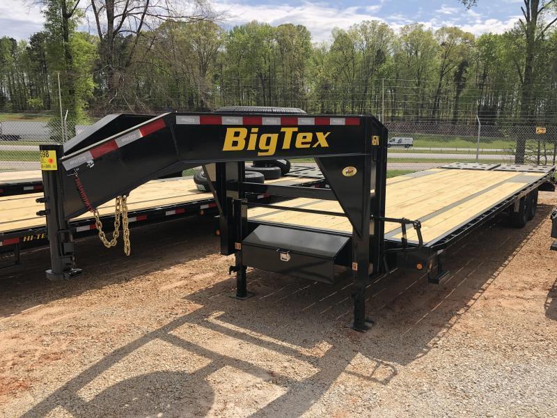 2022 Big Tex 22GN-25+5MR - 23.9K Gooseneck Trailer w/ Mega Ramps
