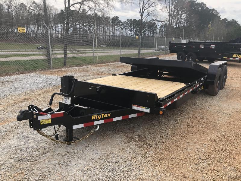 2022 Big Tex 14TL-22 14k Heavy Duty Tilt Deck Trailer (16' tilt +6' fixed)