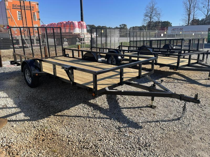 2021 Superior 6 x 14 Elite Utility Trailer with Spring Assisted Gate