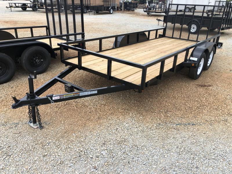 2021 Superior 6 x 16 Elite Tandem Axle Utility Trailer