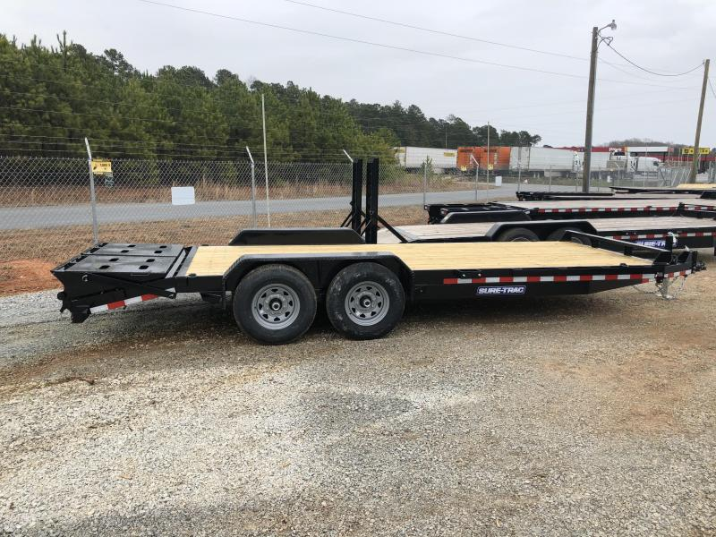 2021 Sure-Trac 7 x 17+3 Universal Ramp Equipment Traile