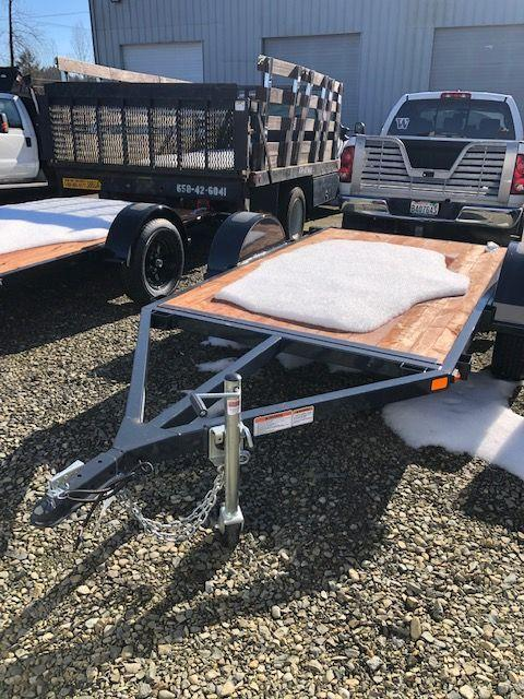 3K Series Flatbed Trailer iron eagle
