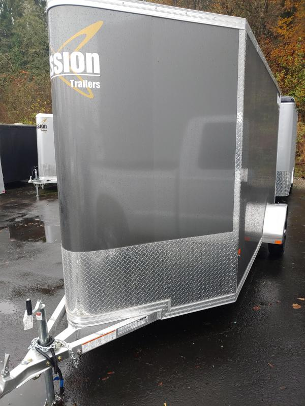 2021 Mission 6 x 12 Enclosed Cargo Trailer
