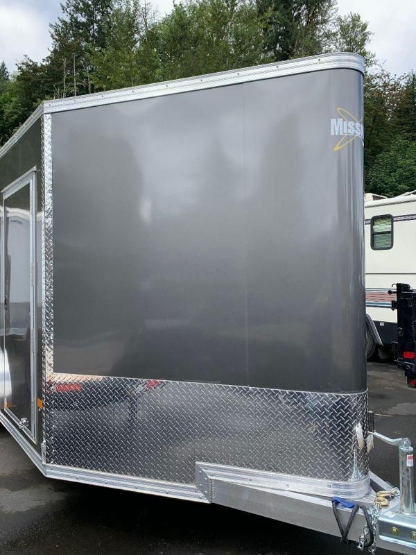2021 Alcom- MEC 7X16 Enclosed Cargo Trailer