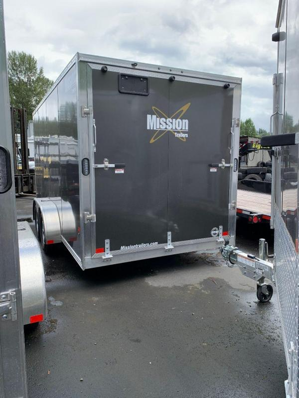 2021 Alcom- MEC 7X16 Enclosed Cargo Trailer