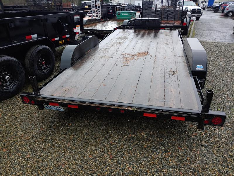 2020 ABU 7 x 16 Flatbed Trailer