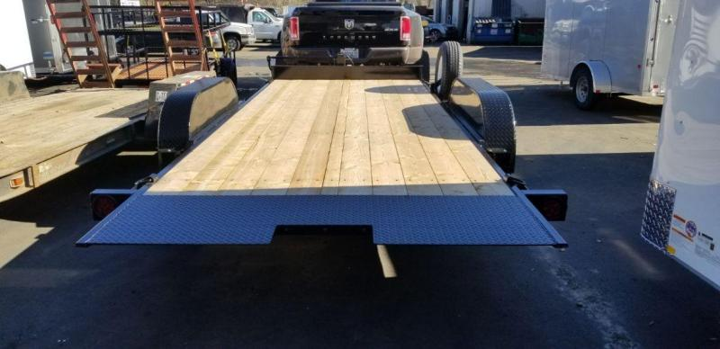 ABU 7x18 Full Tilt 10k Flatbed Trailer