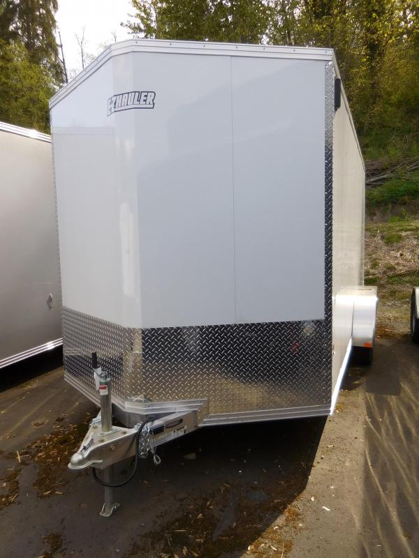 2019 EZ Hauler 7x16 All Aluminum Enclosed Cargo Trailer