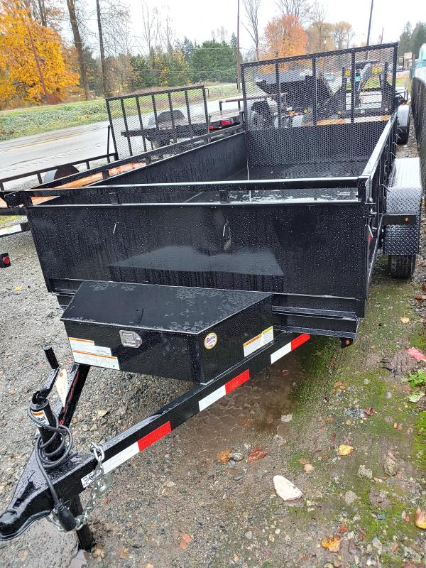 2021 Snake River Dutility Dump Trailer