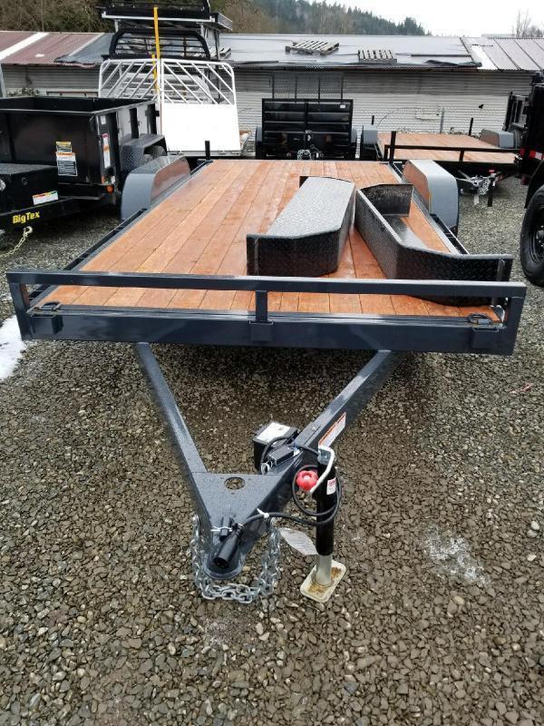 Iron Eagle 7x14 7000 Series Flatbed Trailer