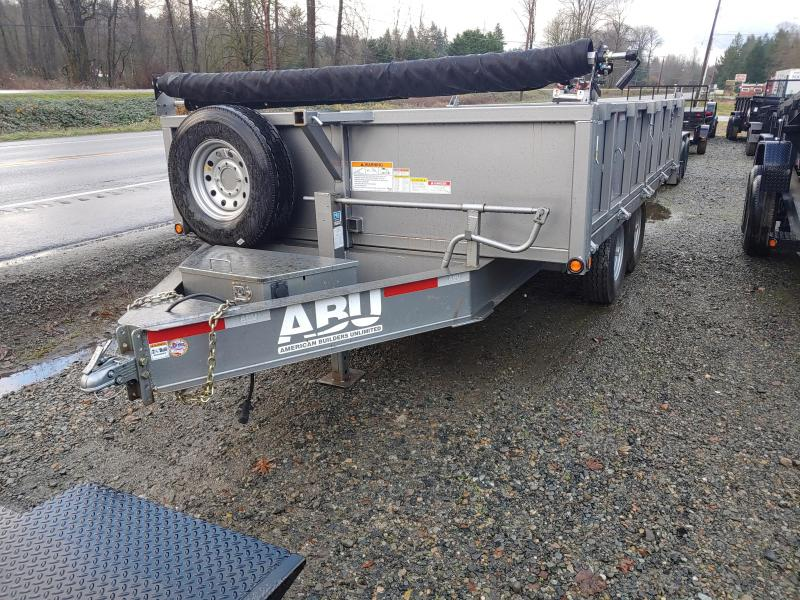 2020 ABU 8 X 14 Deckover Dump Trailer