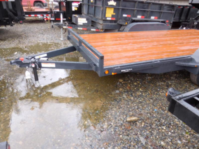 Iron Eagle 7x16 7000 Series Flatbed Trailer