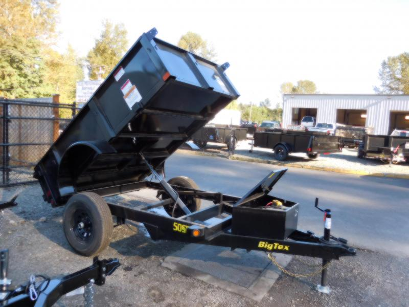 Big Tex 50SR 5x8 Single Ram Dump Trailer