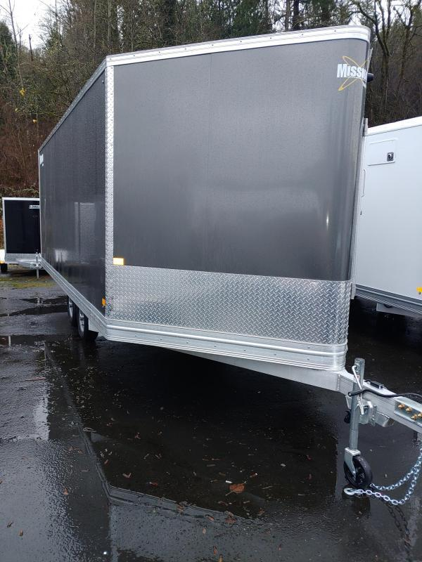 2021 Mission Snow Enclosed Cargo Trailer