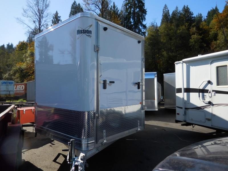 2020 Mission 101x16 Enclosed Cargo Trailer