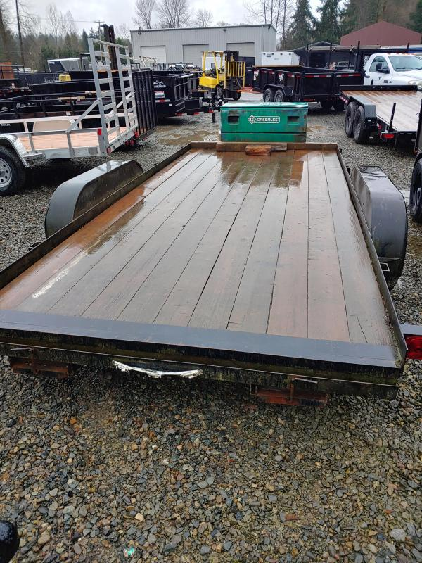 1990 Other 7 x 16 Flatbed Trailer