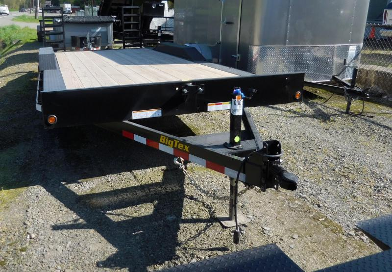 2019 Big Tex Trailers 83X20 10K D/O Fender Flatbed Flatbed Trailer