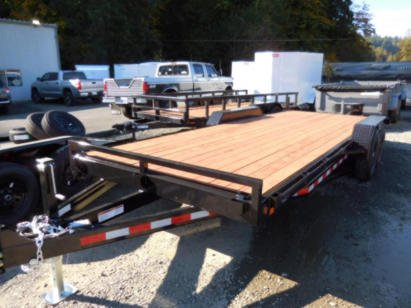 2021 Iron Eagle 7 x 20 14K Series Flatbed Equipment Trailer