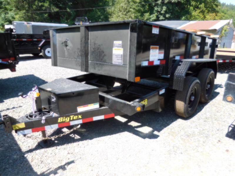 Big Tex 6 x 12 90SR Single-Ram Dump Trailer