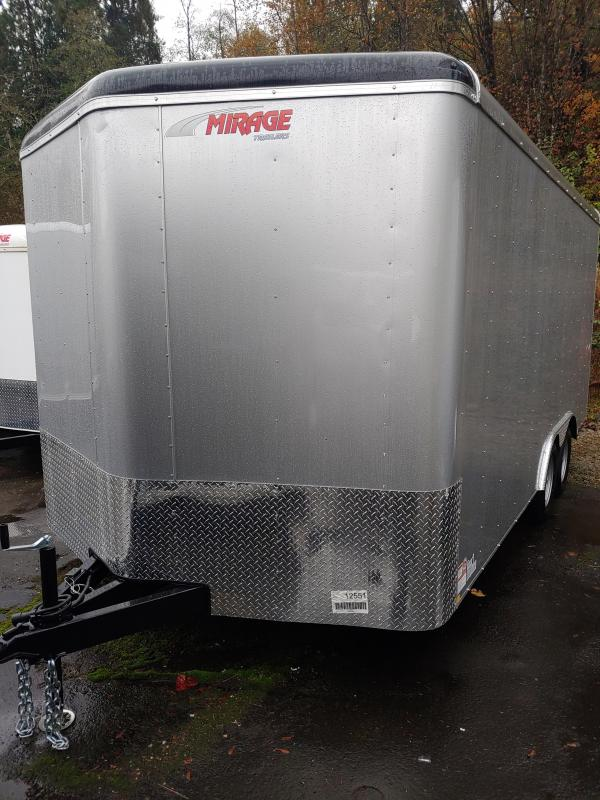 2021 Mirage Trailers 8.5 x 16 Enclosed Cargo Trailer