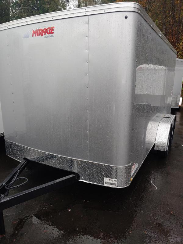 2021 Mirage Trailers XPO Enclosed Cargo Trailer