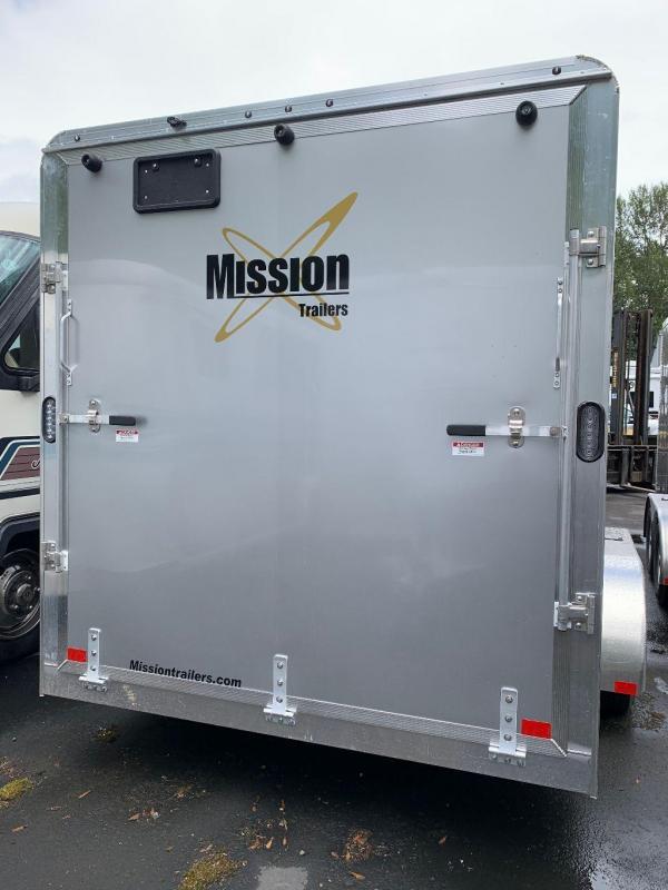 2021 Alcom-Stealth MEC 7X14 Enclosed Cargo Trailer