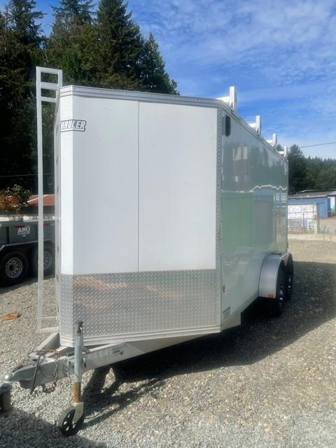 2016 EZ Hauler 7 X 14 Contractors Enclosed Cargo Trailer